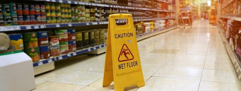 Is a slip and fall at a supermarket worth pursuing