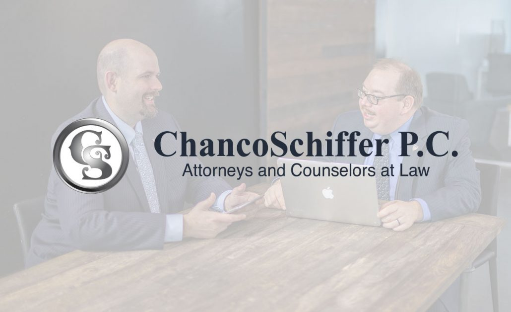 Atlanta personal injury firm ChancoSchiffer logo